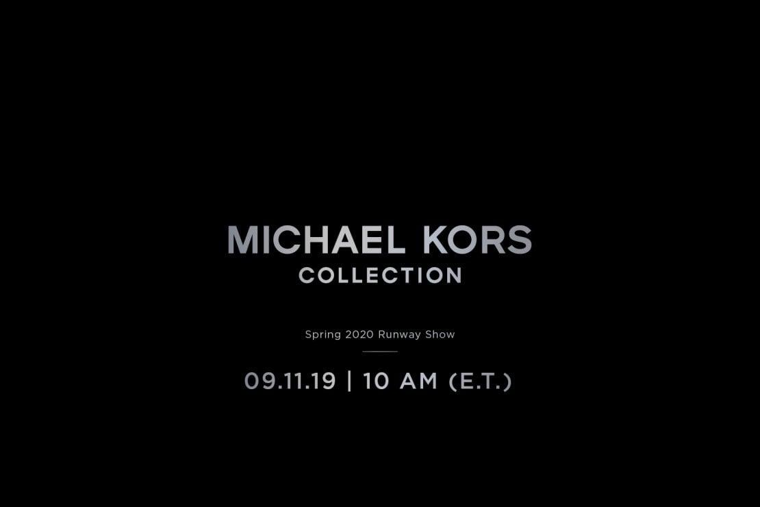 Michael Kors: la sfilata LIVE!
