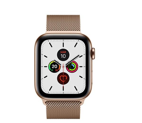 Apple Watch Series 5Always-On Display consuma più batteria: grazie alle innovazioni tecnologiche abbinate, Apple Watch Series 5 assicura comunque 18 ore di autonomia nonostante lo schermo sempre visibile. Elegante con cinturino milanese e possibilità di sim