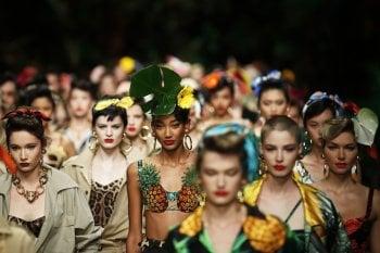 Benvenuti nella giungla chic di Dolce&Gabbana