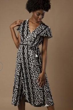 L'abito indossato dalla duchessa sul sito del brand fair trade Mayamiko, modello Dalitso