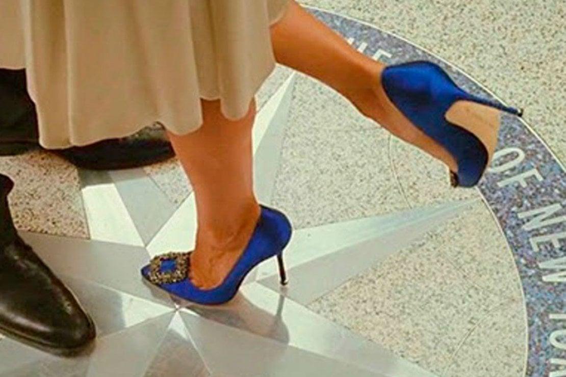 vende nuovo aspetto speciale per scarpa Vuoi sposarti con le Manolo Blahnik di Carrie Bradshaw ...
