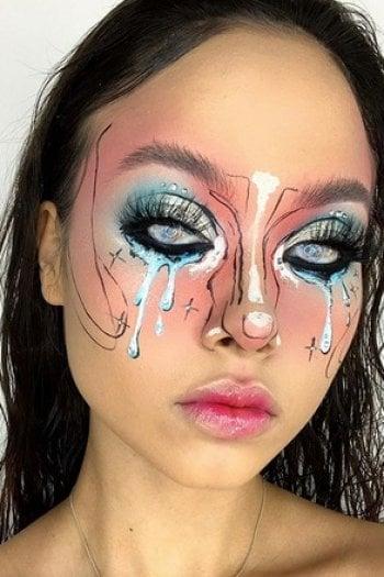 Tratto da Ig di Ruby Graham , Make up artist
