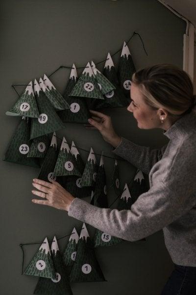 12 calendari dell'avvento :  una casella da aprire ogni giorno fino a Natale
