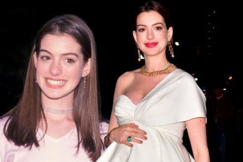Anne Hathaway compie 37 anni: i look che l'hanno trasformata in una divina dei red carpet