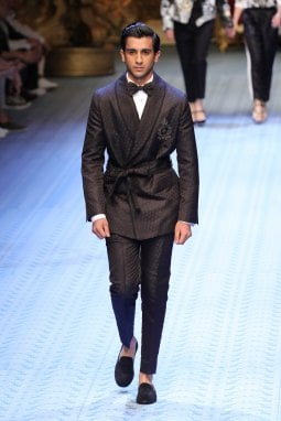 Pacho in passerella per Dolce&Gabbana