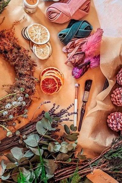 5 Ghirlande natalizie da realizzare in casa con i tutorial di Instagram