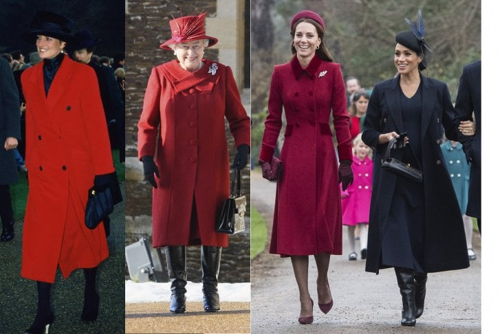 I look più belli della regina Elisabetta II, Lady Diana, Kate Middleton e Meghan Markle