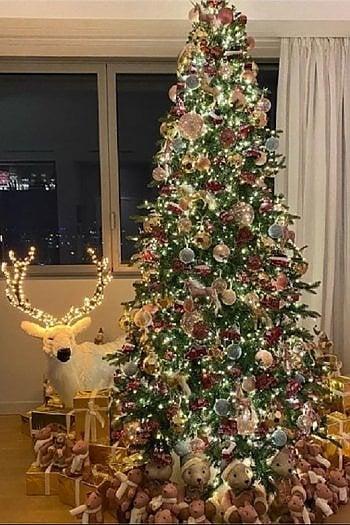 Da Chiara Ferragni ad Alessia Marcuzzi, per l'albero di Natale ispiriamoci ai famosi