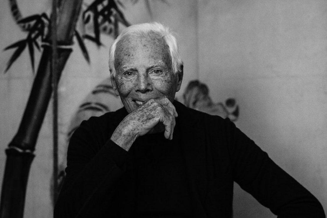 Lo stilista Giorgio Armani, nato l'11 luglio, segno del Cancro