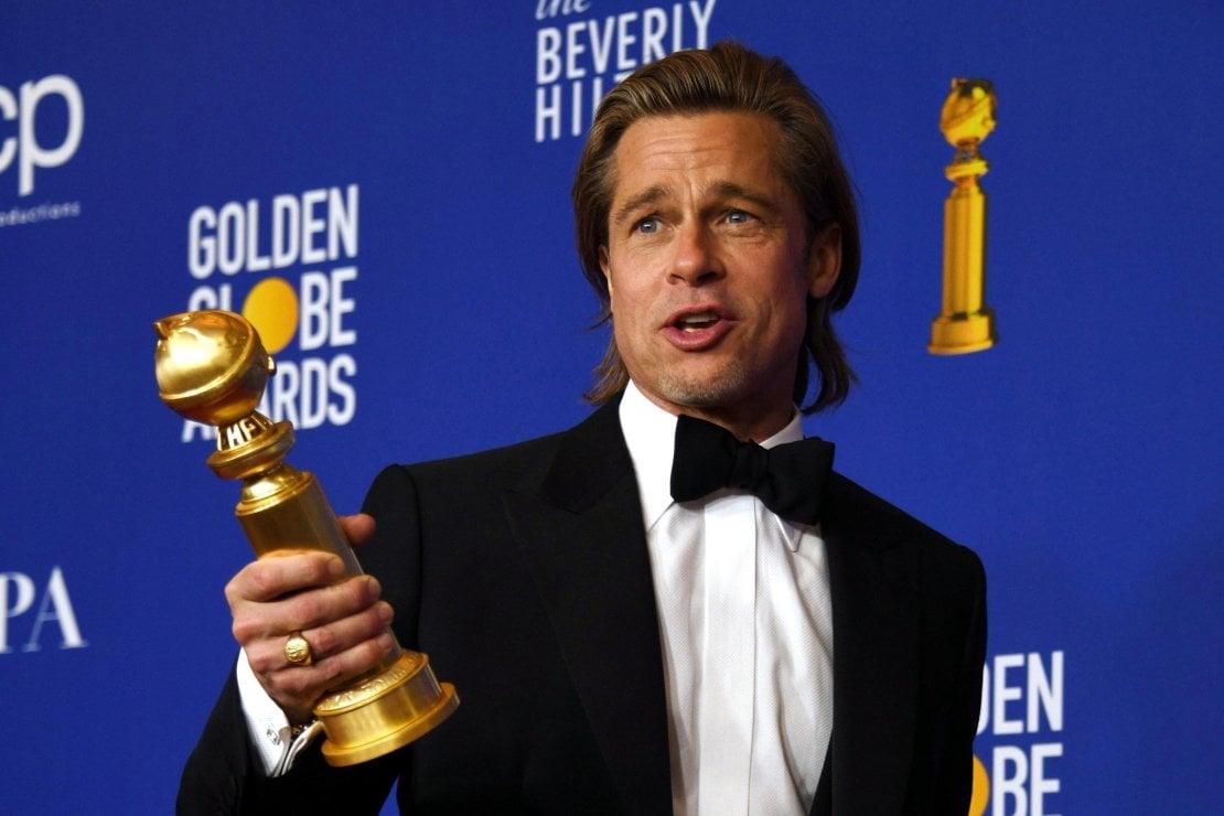 Golden Globe, Brad Pitt smentisce i gossip e rivela: Jennifer è la mia migliore amica