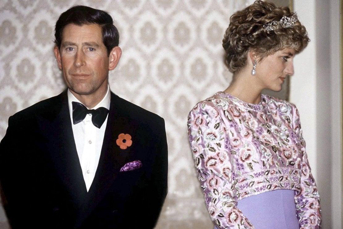 Il principe Carlo e Lady Diana, principessa del Galles, ai tempi del loro matrimonio