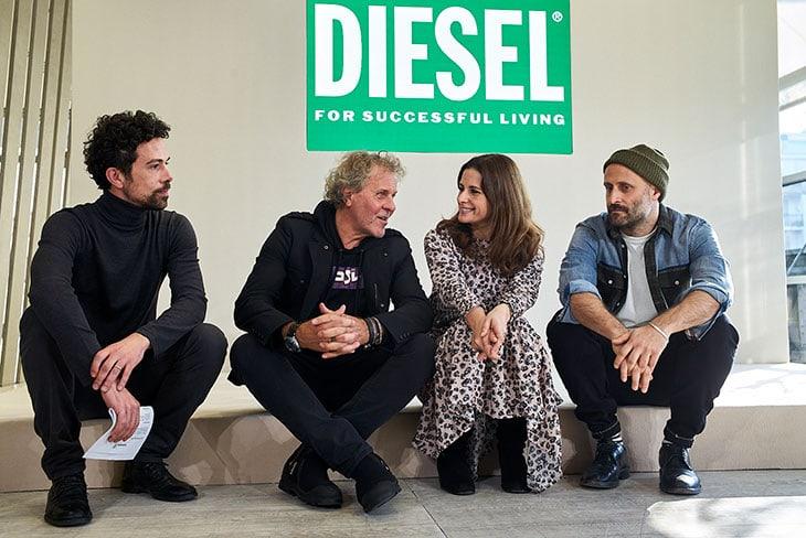 Nicola Giuggioli, Renzo Rosso, Livia Firth e Andrea Rosso