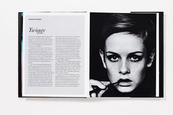 Twiggy Foto tratta dal libro Face Paint: The Story of Make up