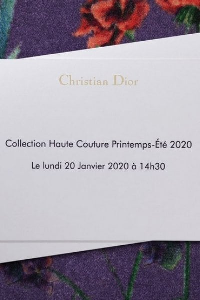 Christian Dior Couture: la sfilata streaming!