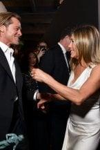 Brad Pitt e Jennifer Aniston insieme ci fanno sognare il ritorno di fiamma