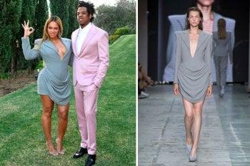 Beyoncé: l'abito indossato nel giorno dei Grammy è di uno stilista italiano neodiplomato