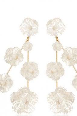Orecchini cascata a fiore, Jennifer Behr