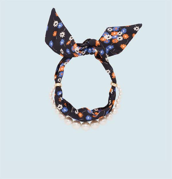 Collana foulard, boules, Miu Miu