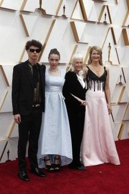 Laura Dern e famiglia