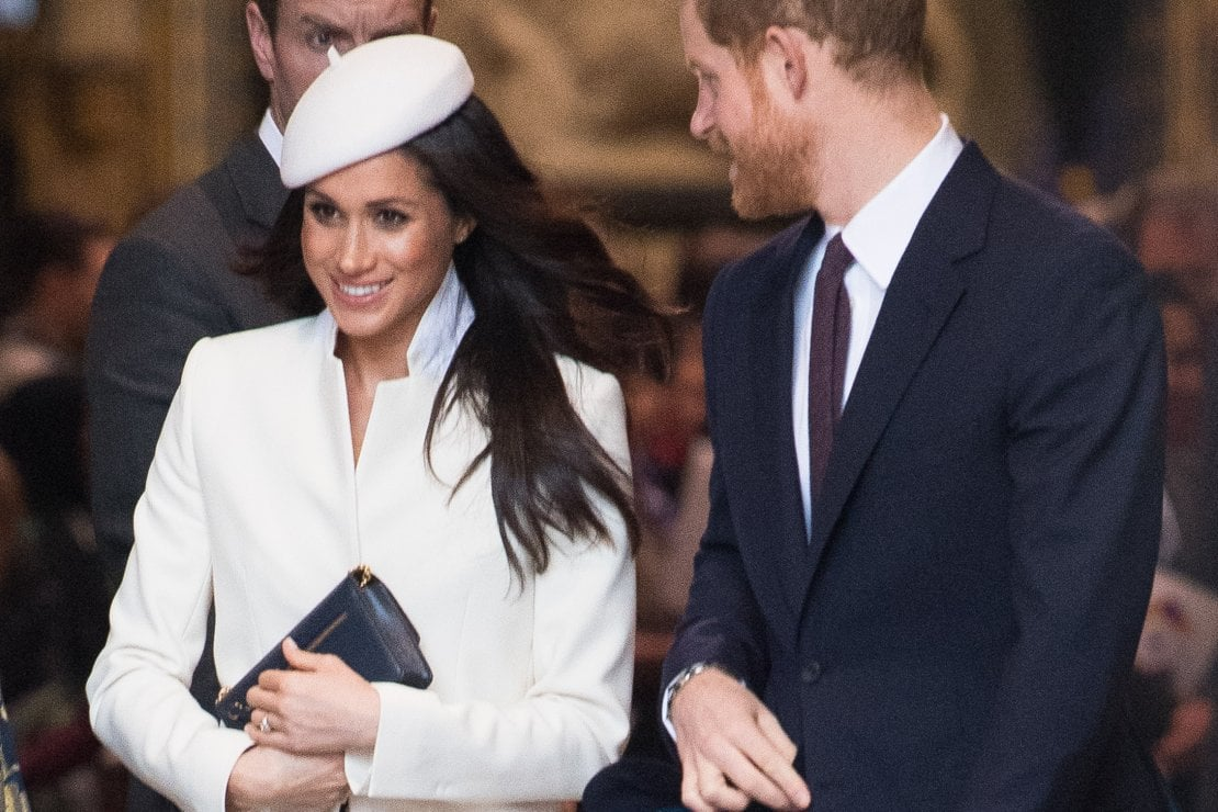 Meghan Markle e il principe Harry al Commonwealth Day service 2018, Westminster Abbey