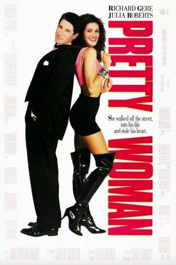 La locandina di Pretty Woman, 1990, Warner Bros