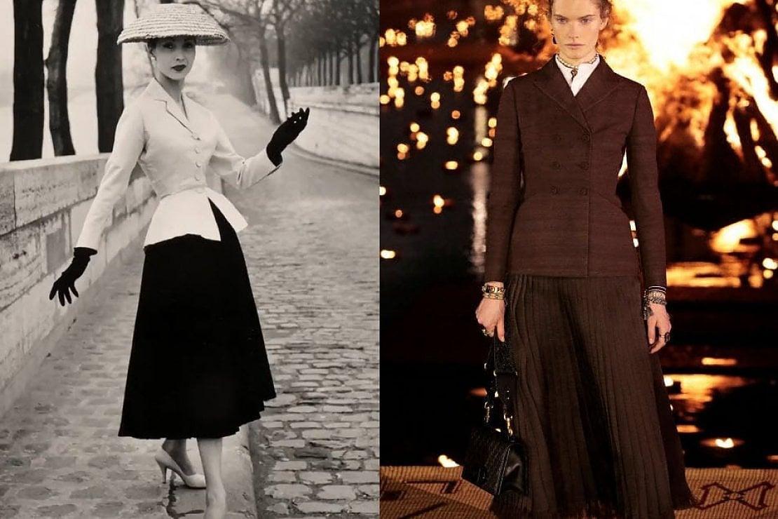 1947-2020: l'iconica Bar Jacket di Dior compie 73 anni