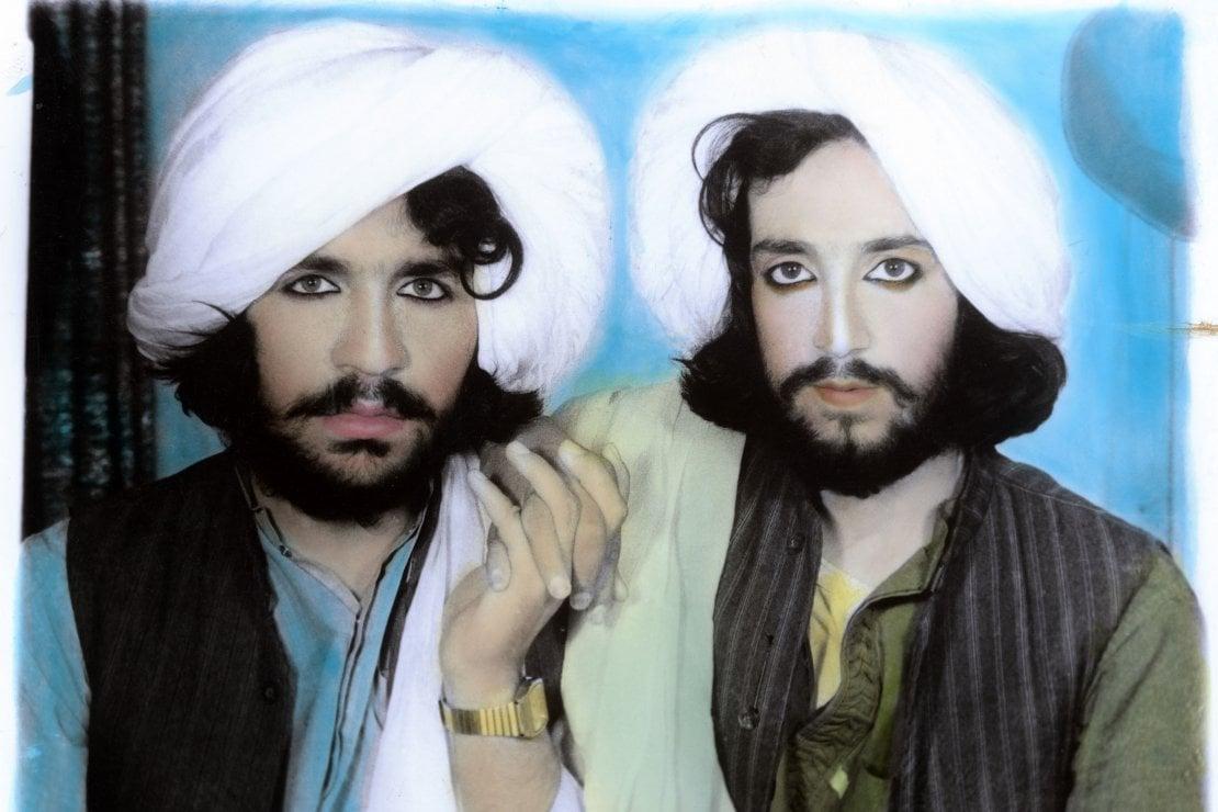 Thomas Dworzak / Taliban portrait. Kandahar, Afghanistan. 2002.© Collection T. Dworzak/Magnum Photos