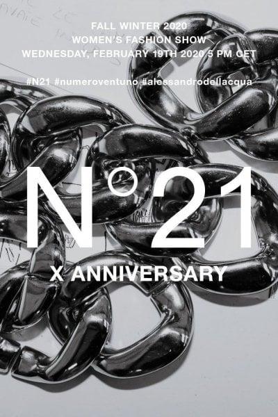 N°21: la sfilata in streaming!
