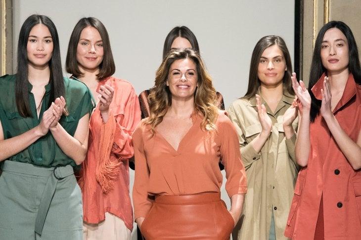 """Vanessa Incontrada in passerella per Elena Mirò: """"Una collezione inclusiva e femminile"""""""