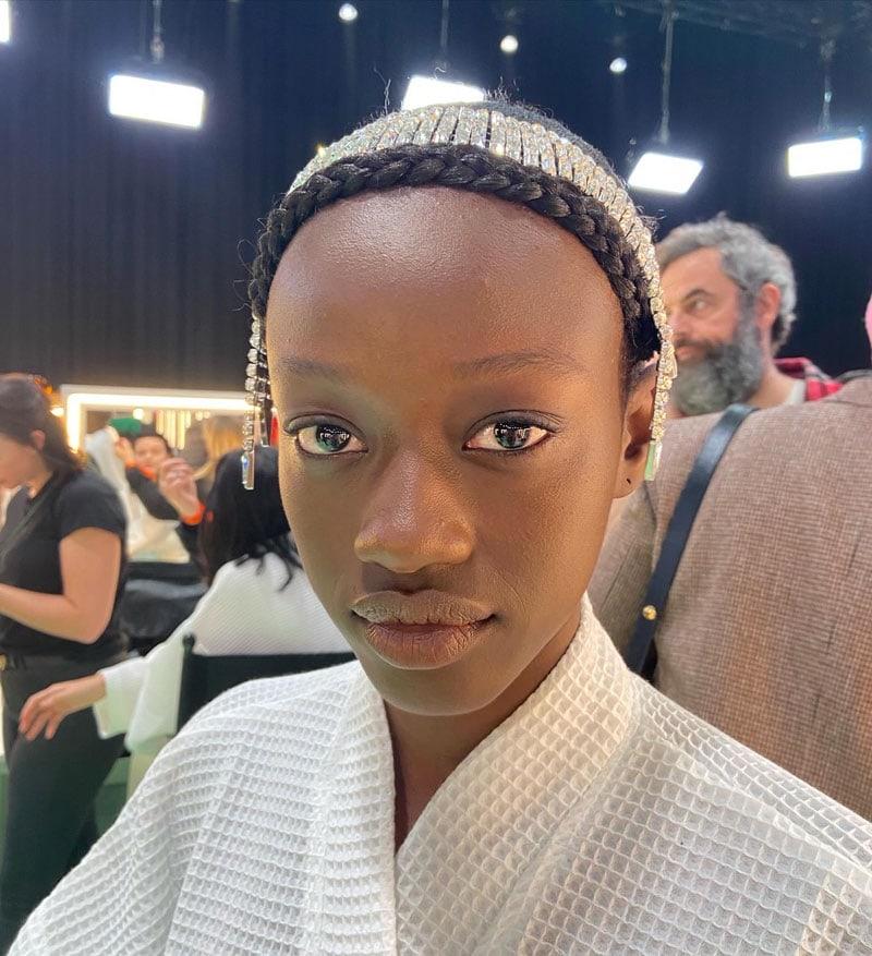 Gucci backstage Beauty