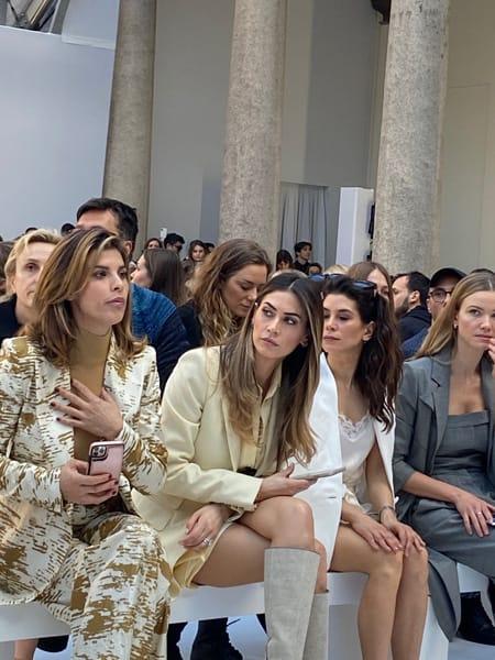 Vip da Max Mara: Elisabetta Canalis, Melissa Satta, Giulia Michelini