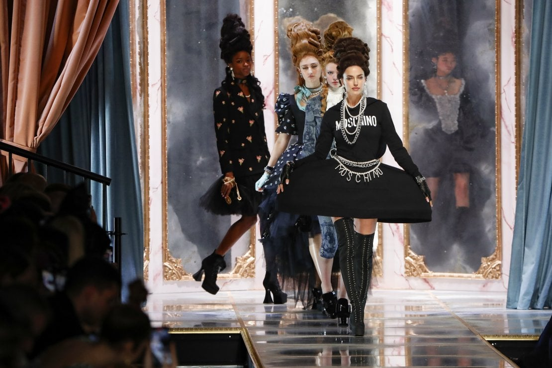 Moschino: Maria Antonietta alla corte di Jeremy Scott