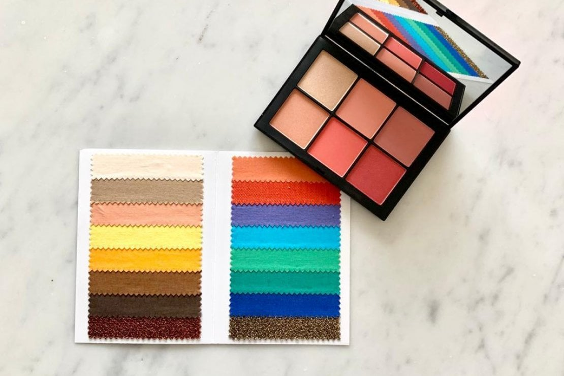 La palette make up del tipo Primavera