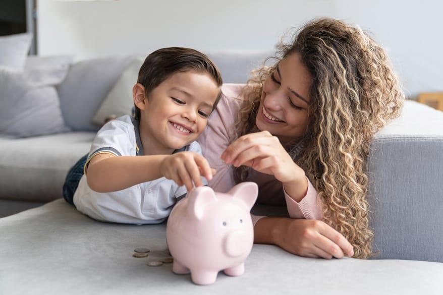 L'arrivo dei figli spinge a rivedere le priorità … anche economiche