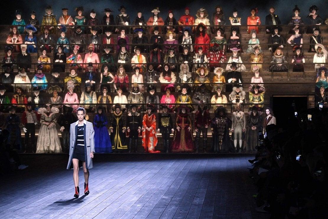 Louis Vuitton: il Tempo ispira la moda di Nicolas Ghesquière