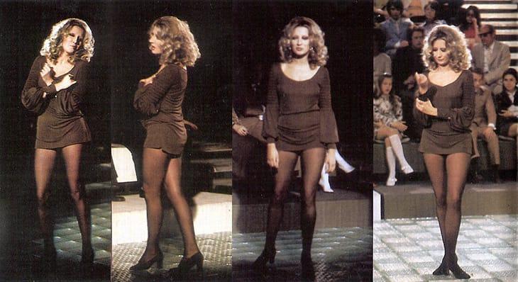 Mina ha sdoganato l'uso della minigonna nella televisione italiana