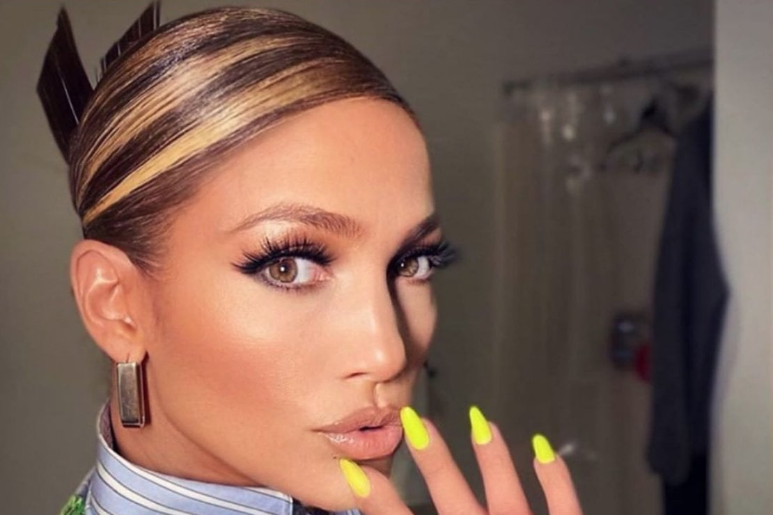 Le mèches sono tornate: parola di Jennifer Lopez