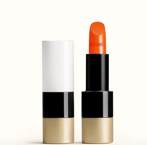 Rossetto satin, orange boitè,  Hermès