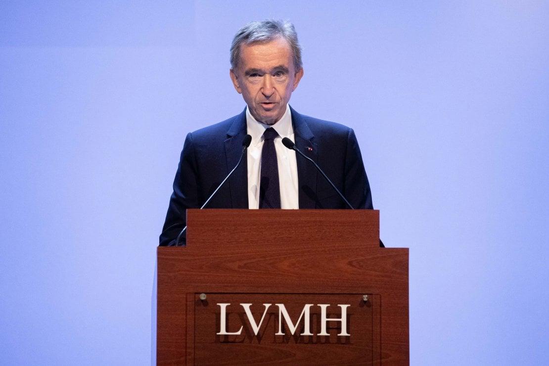 Bernard Arnault, proprietario del gruppo del lusso LVMH