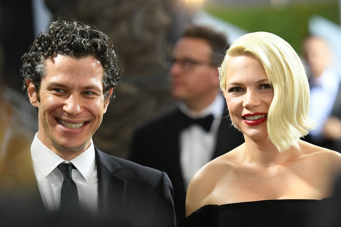 Michelle Williams incinta, sposa a sorpresa Thomas Kail