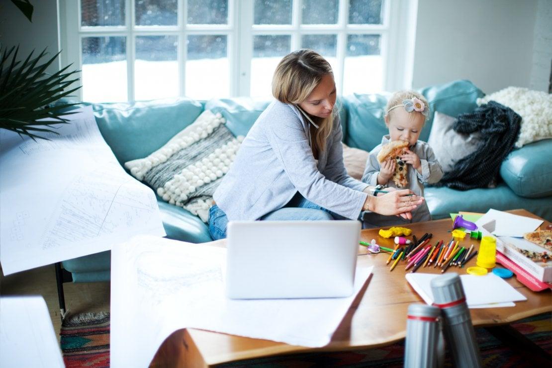Consigli Per La Casa consigli per chi lavora da casa con figli piccoli e non