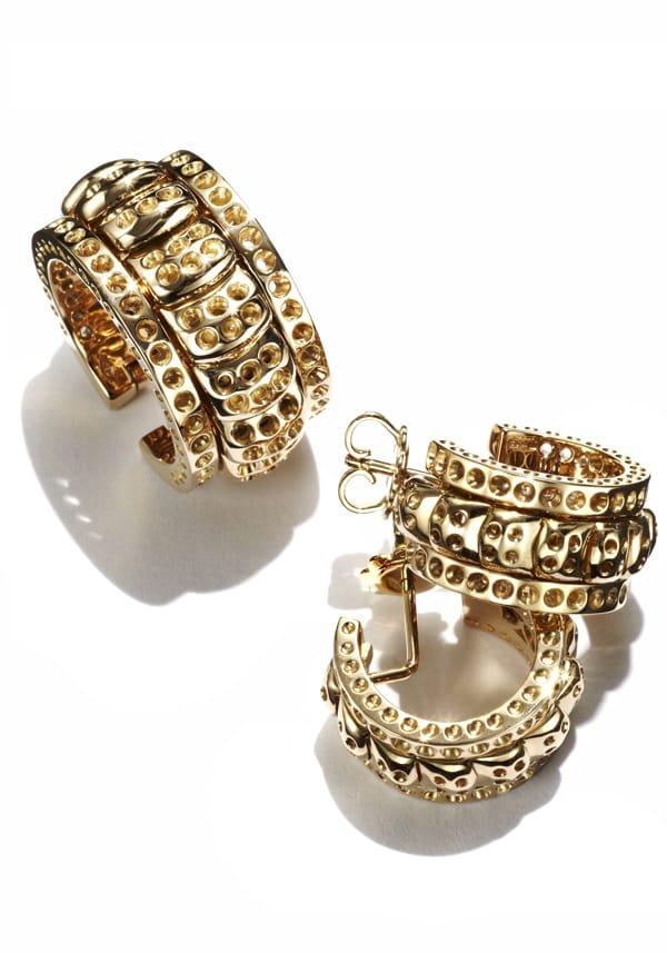 Orecchini e anello, Farnese Gioielli