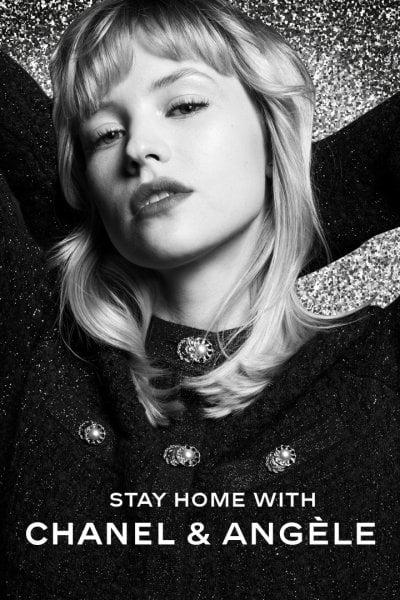 Chanel: sulle stories di instagram il live della cantante Angèle