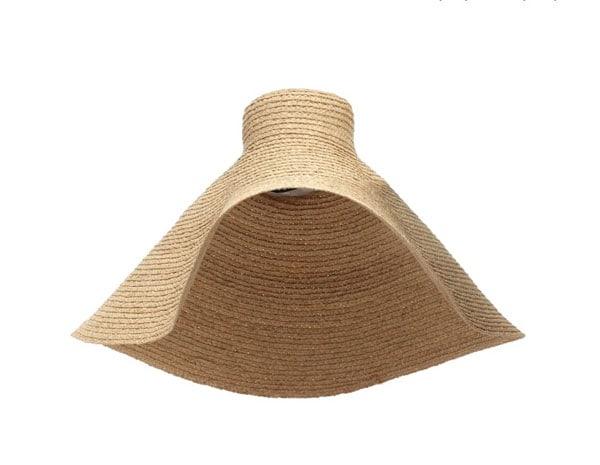 Cappello maxi di paglia, Jacquemus in vendita su My Theresa