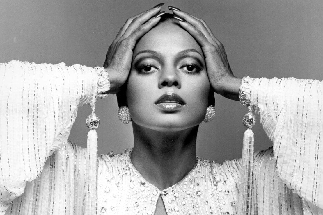 Diana Ross in uno scatto di Victor Skrebneski del 1977