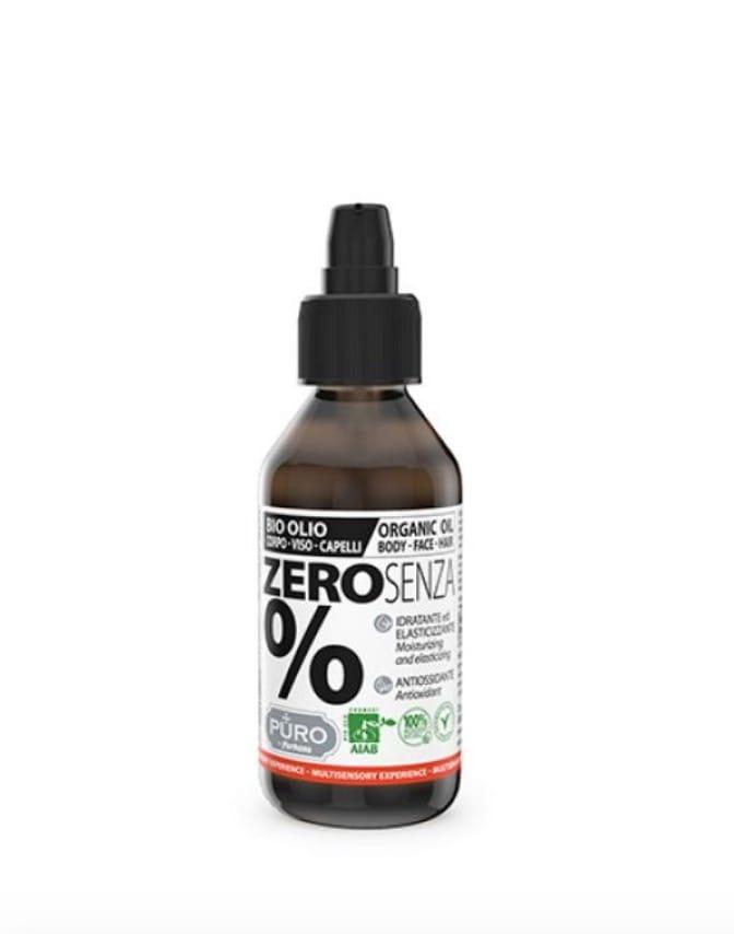 L' Olio di Mandorle favorisce idratazione e nutrimento profondi, Olio Zero SENZA% BIO, Puro Zero Bio by Forhans