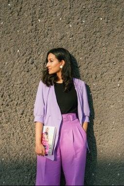 La giornalista Hafsa Lodi, autrice del libro