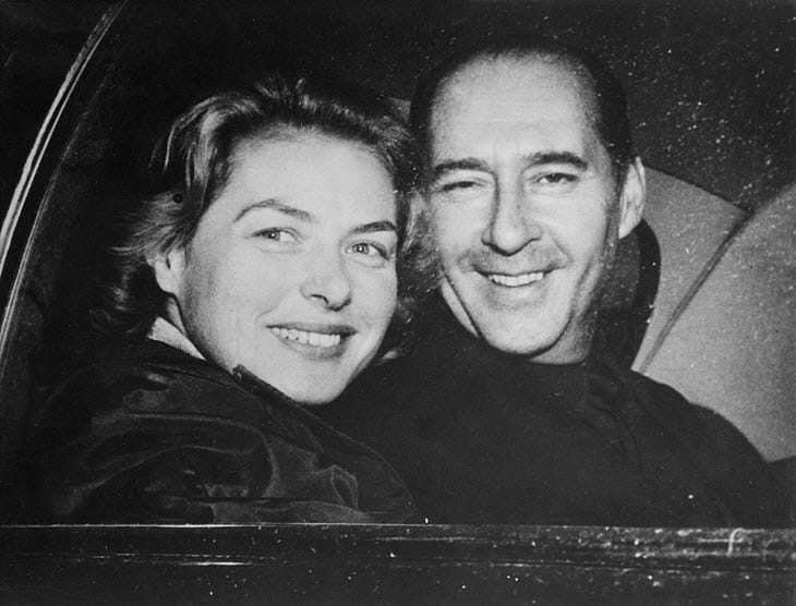 Ingrid Bergman e Roberto Rossellini