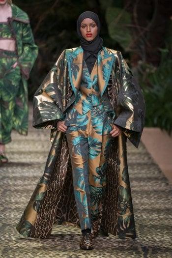 Un look di Dolce&Gabbana; per la primavera/estate 2020
