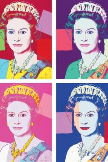 Andy Warhol, Queen Elizabeth II of the United Kingdom, Reigning Queens @masterworksfineart.com
